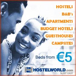 hostelek B&B szállások 5 eurótól